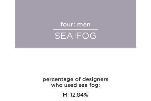 sea fog pantone