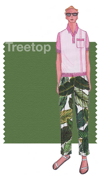 verde bosco